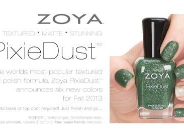 Zoya Fall 2013 PixieDust Collection