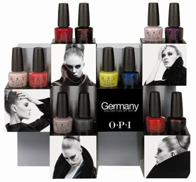 Лако-новости: OPI Germany Collection