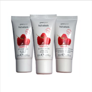 GREENLAND FRUIT EXSTRACTS Shower gel/Body cream/Shampoo Raspberry