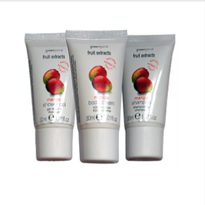 GREENLAND FRUIT EXSTRACTS Shower gel/Body cream/Shampoo Mango